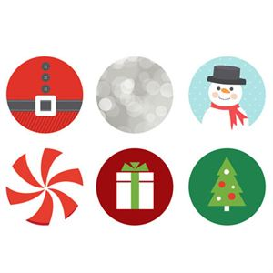 Picture of Holiday Large Locket Backdrops